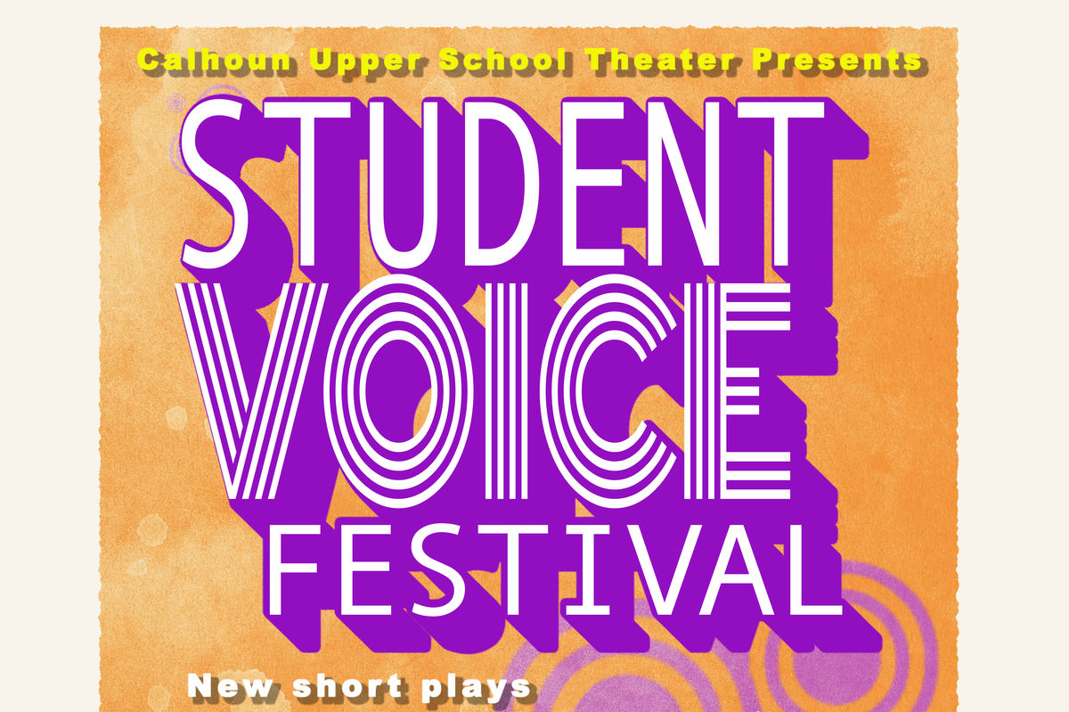 US Theater: Student Voice Festival, April 19-21