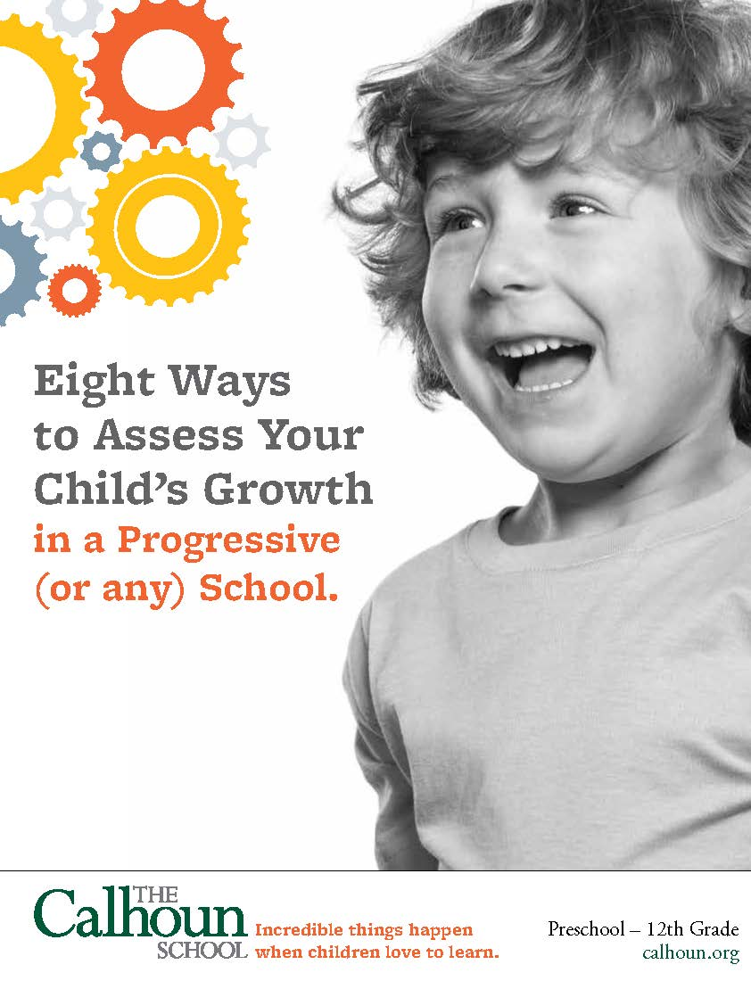 Cover to Calhoun's Free Guide for Parents