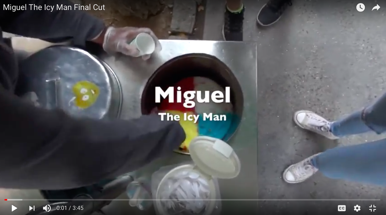 Miguel The Icy Man Doc Cover Photo