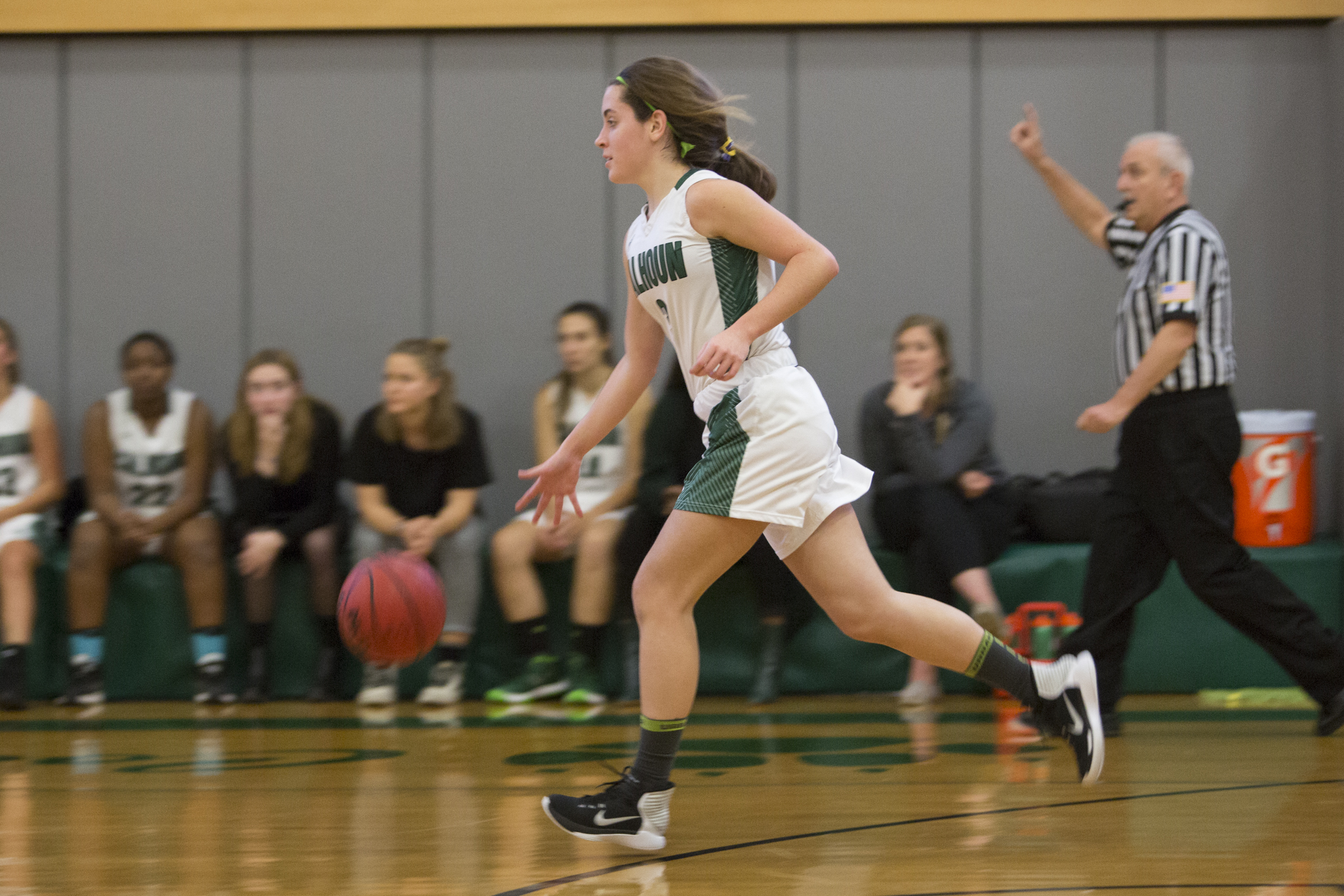 Cougar Training: Girls' Evening Basketball