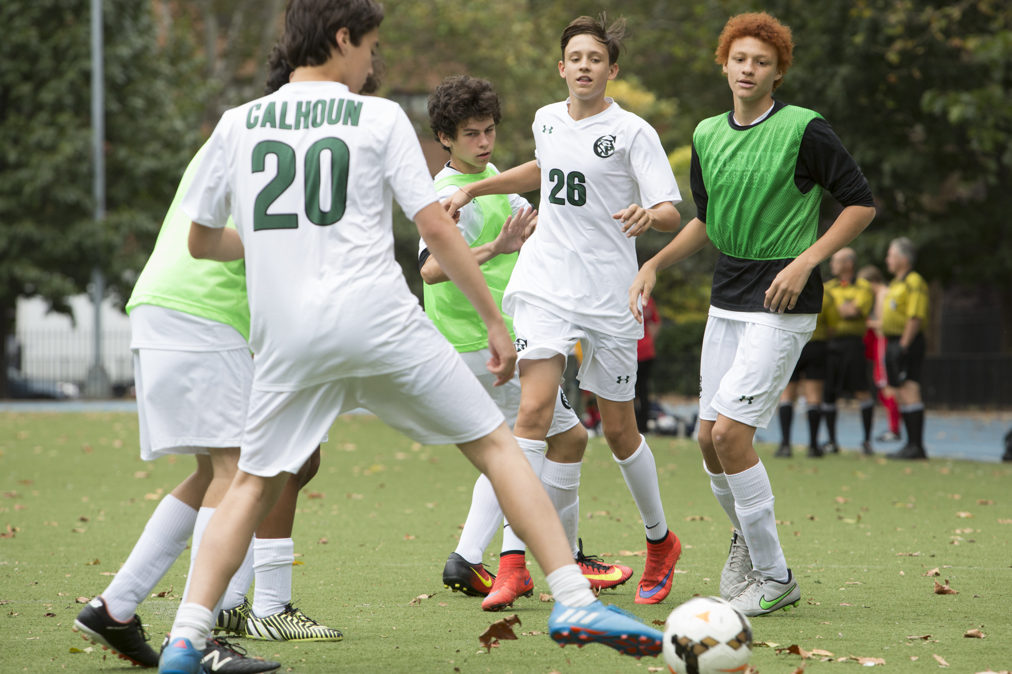 Fall Overnight Camp for Upper School Athletes (Greenkill Camp)