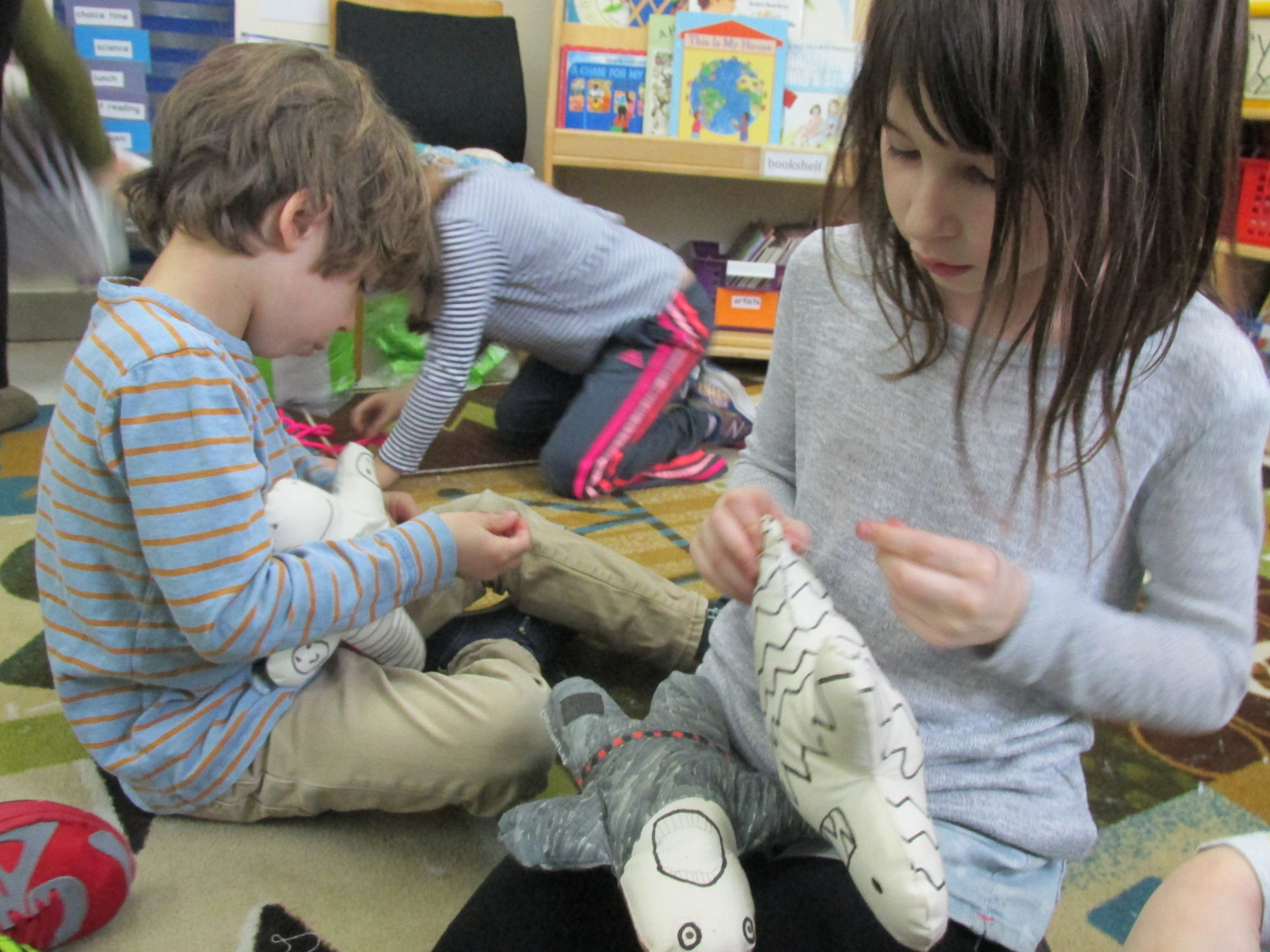 Interdisciplinary Project Continues First Grade Tradition