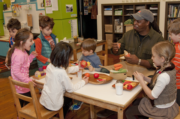 LS: Kindergarteners Launch Food Study