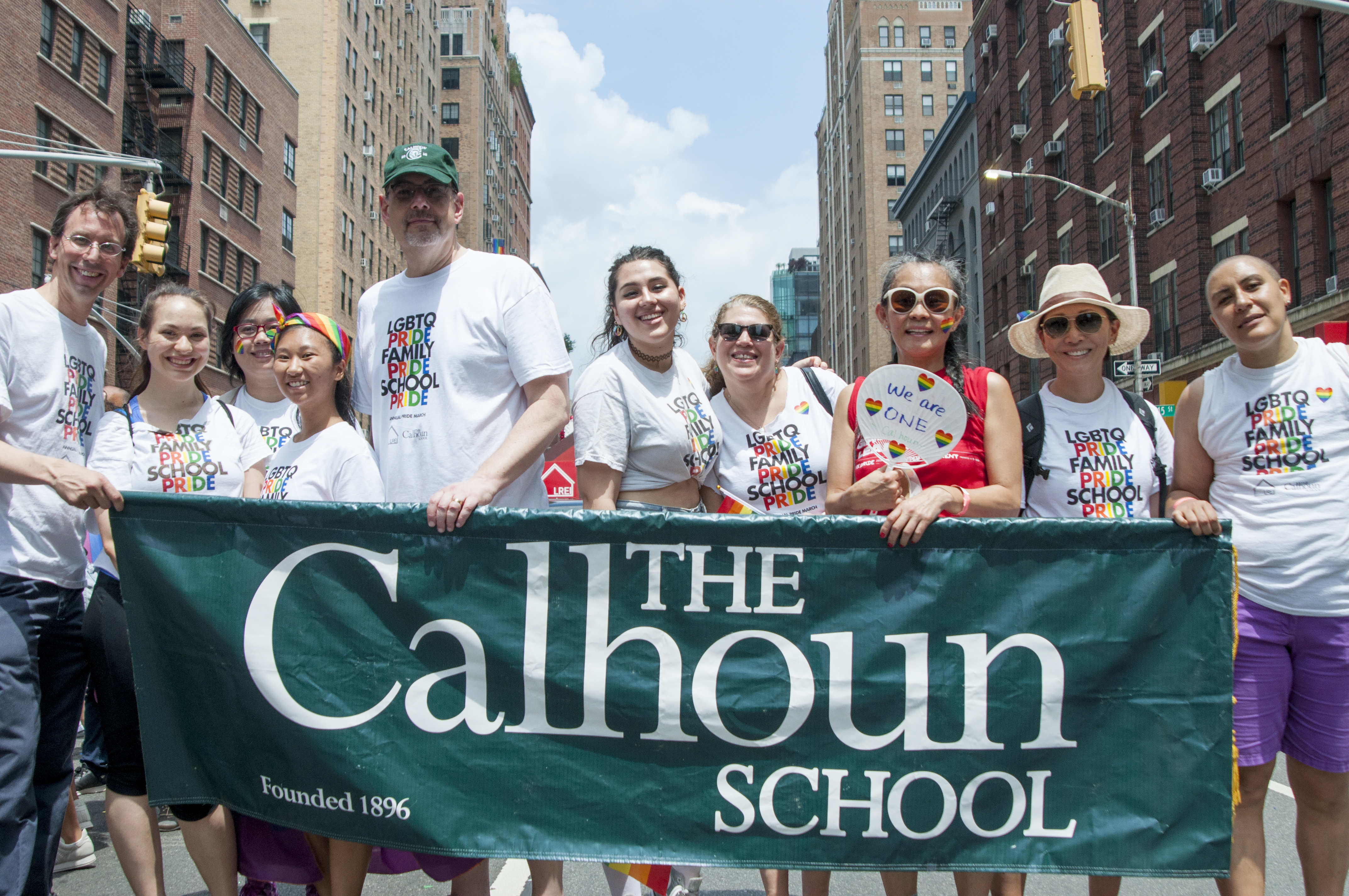 Calhoun Community Celebrates NYC PRIDE March