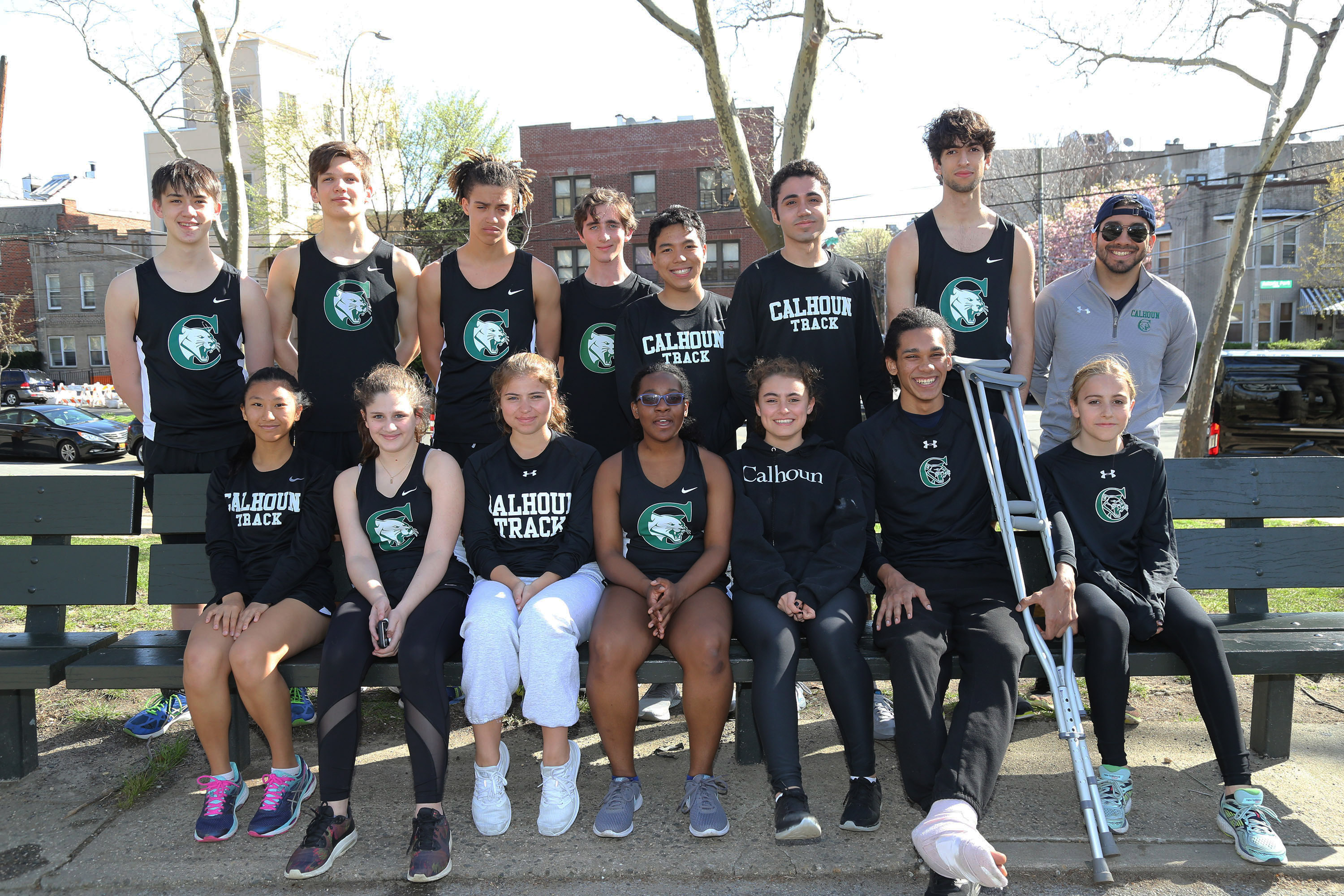 Varsity Track & Field Athletes Win NYCAL Medals!